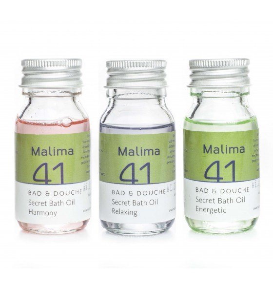 Malima 41 Secret Bath Oils 3 x 30 ml.