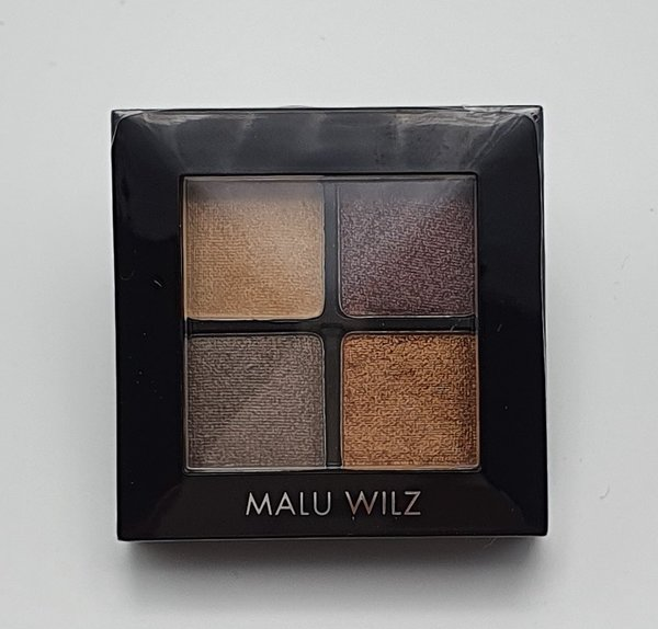 Malu Wilz Quattro Eye Shadow promotie 2019 Brown